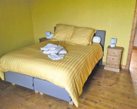 Je zorgvrije vakantie start in de gele kamer van de groepsgîte van La Grande Roche