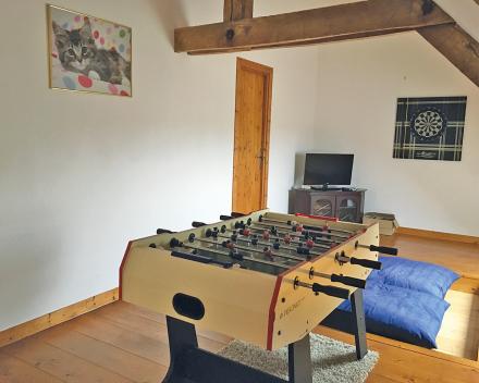 Tijdens je zorgvrije vakantie lekker ontspannen in de groepsgîte van La Grande Roche