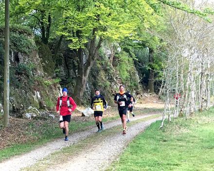 2019, halve marathon met start in Romagny door voies vertes en domein La Grande Roche
