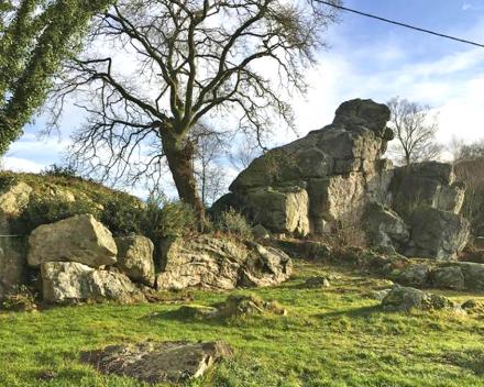 La Grande Roche die symbool staat voor het ganse domein en zorgvrije vakantie